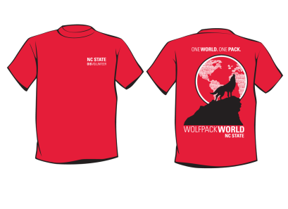 T shirt design for OIS student volunteers