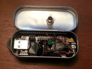 IOIO board setup with analog input sensor